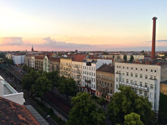 Berlin Dachterrrasse 2