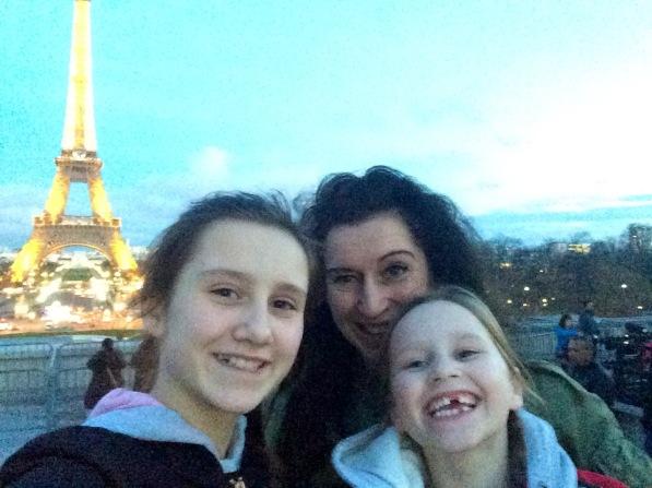 Paris alle drei Eiffelturm