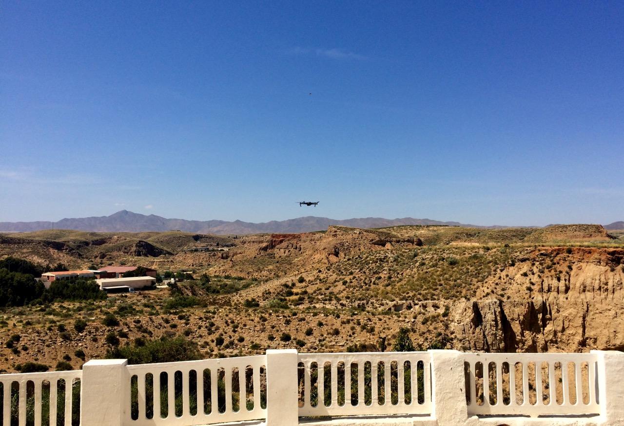 Almeria Drohne