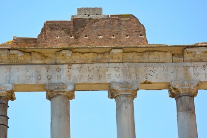 Rom FR Säulen