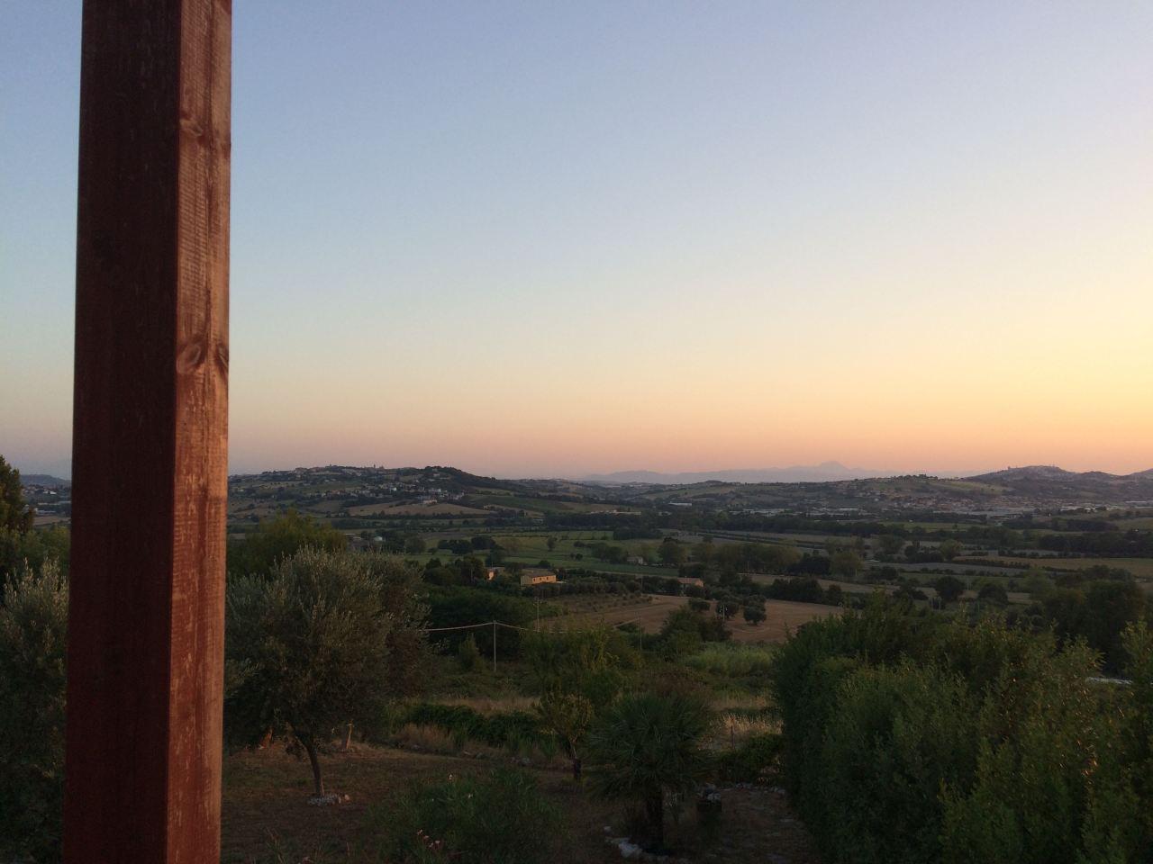 Blog Blick Terrasse Sirolo
