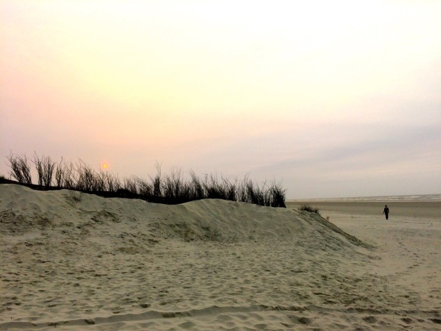 Juist Strand Abend