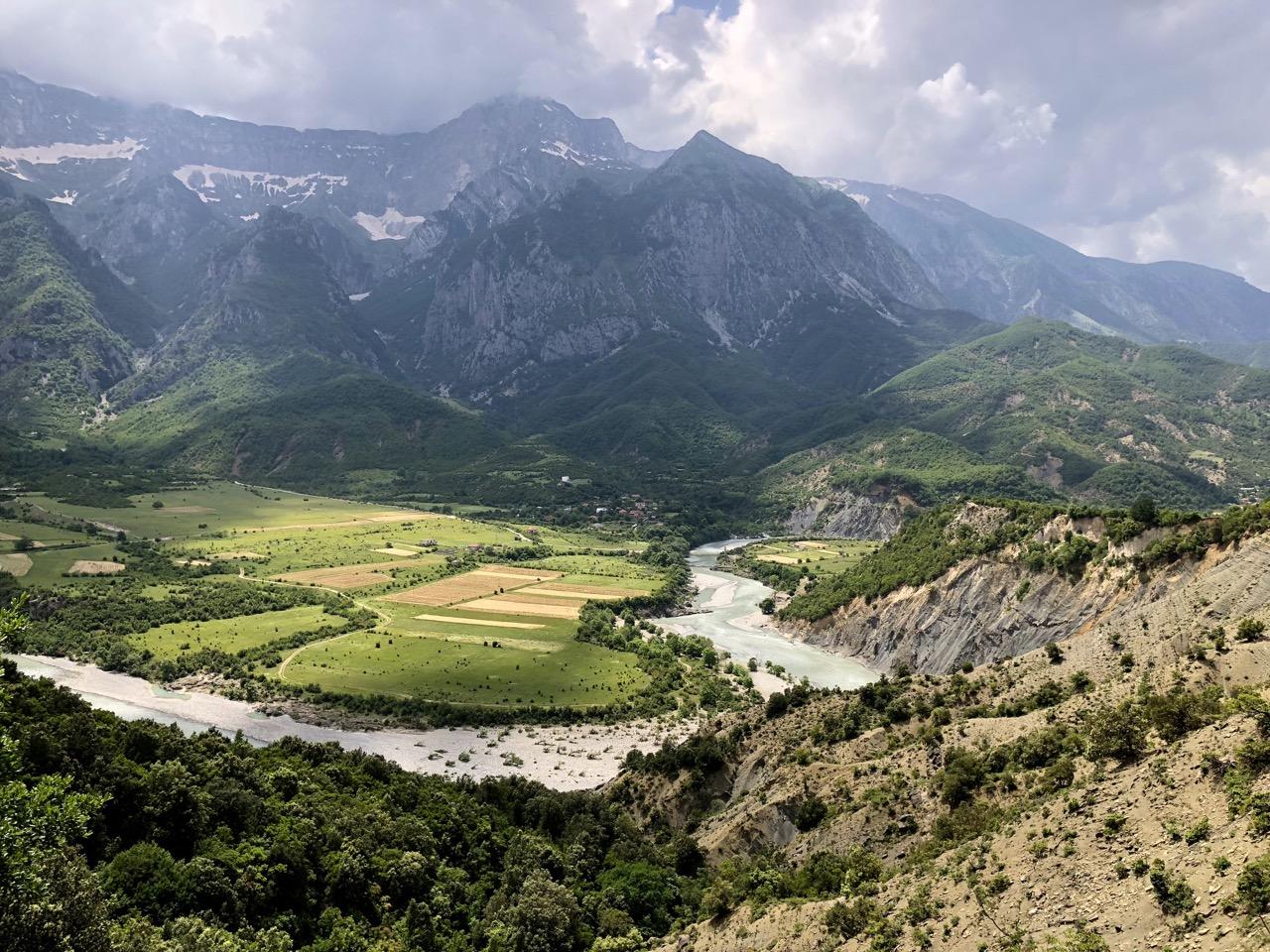 Albanien Totale Vjosa